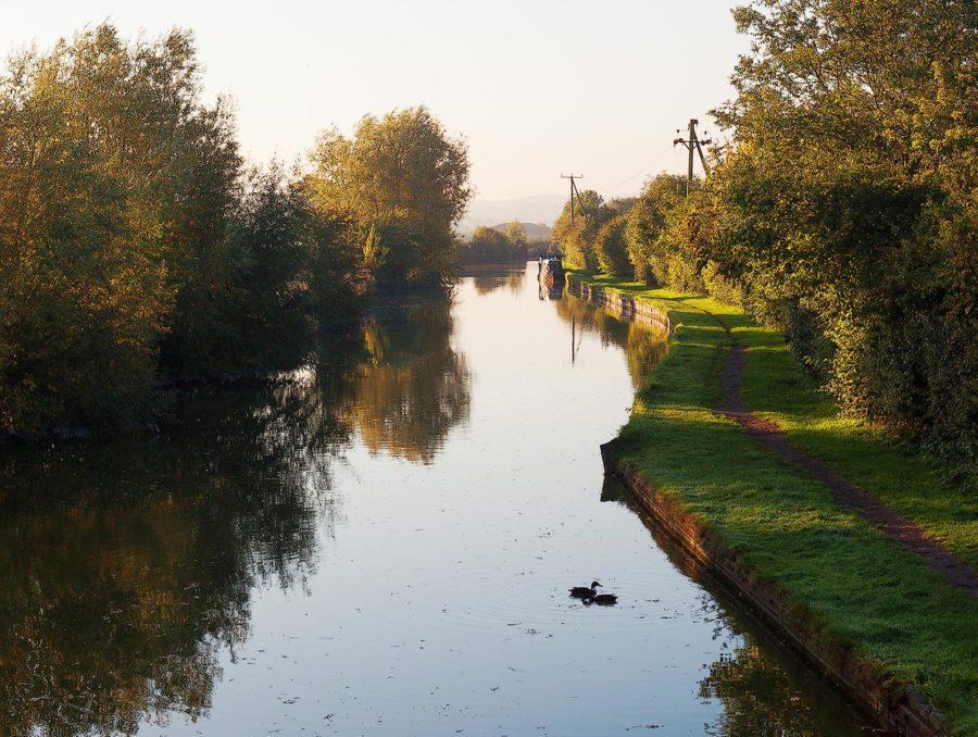 Canal in Slapton