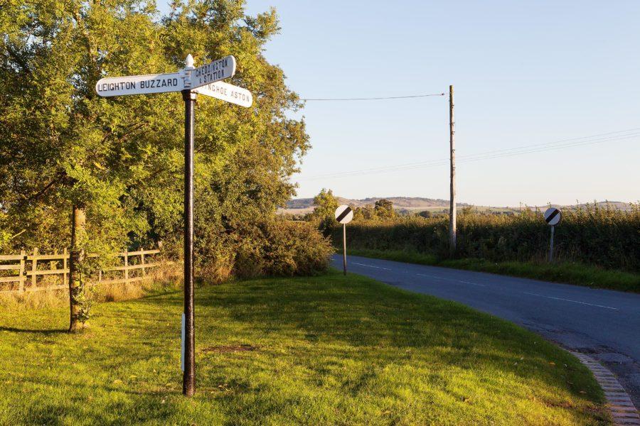 Finger Signpost in Slapton