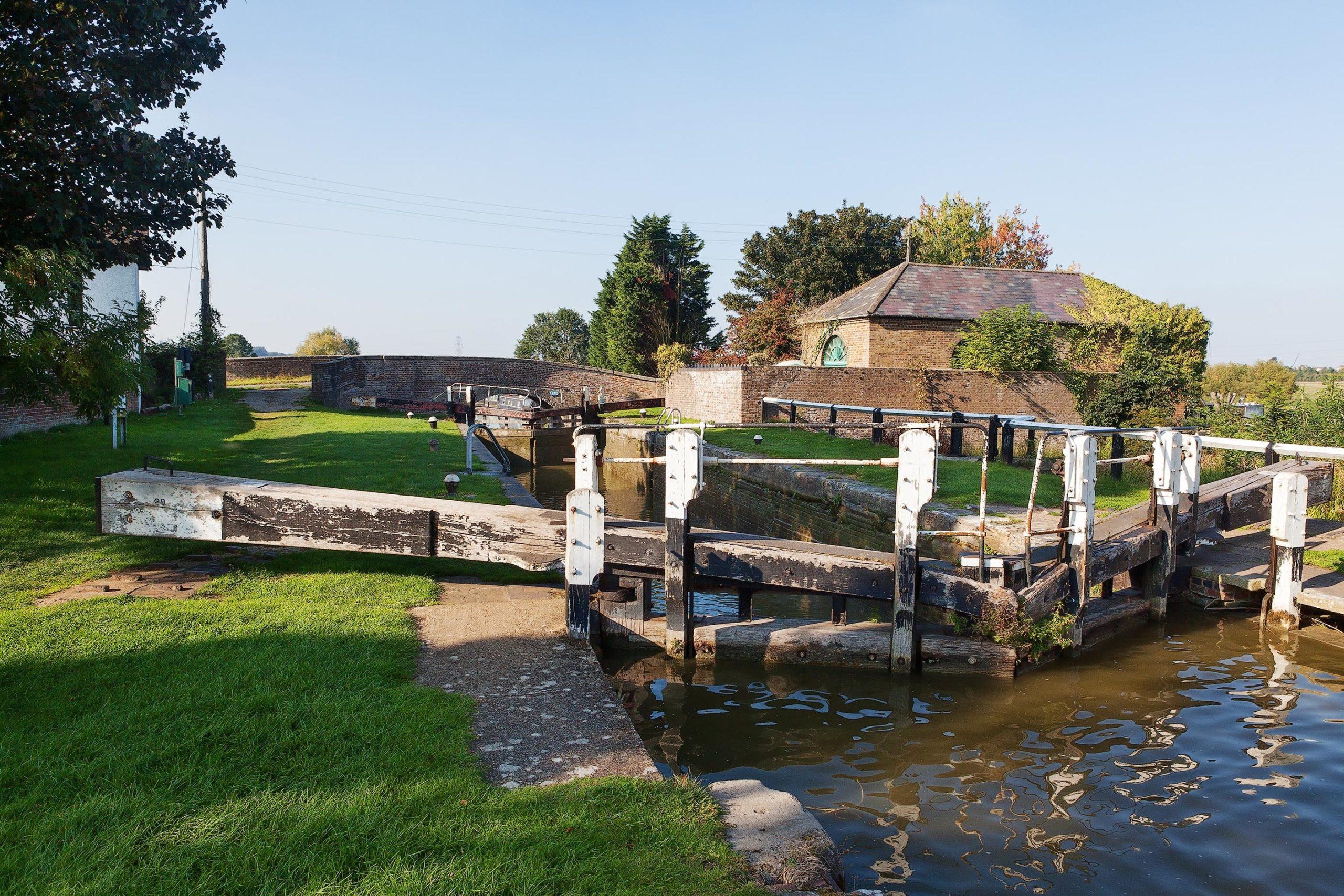 Grand Union Canal at Church Lock