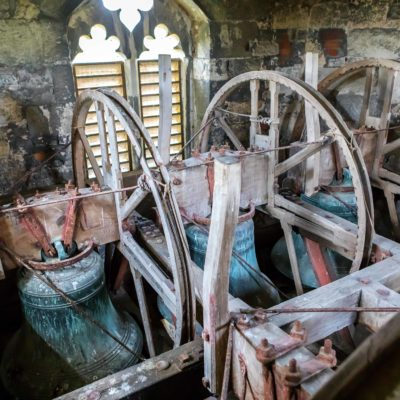 Picture of the Bells at Holy Cross Church in Slapton