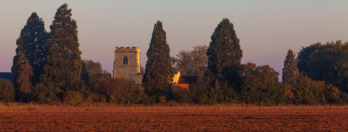 Holy Cross Church at Sunrise