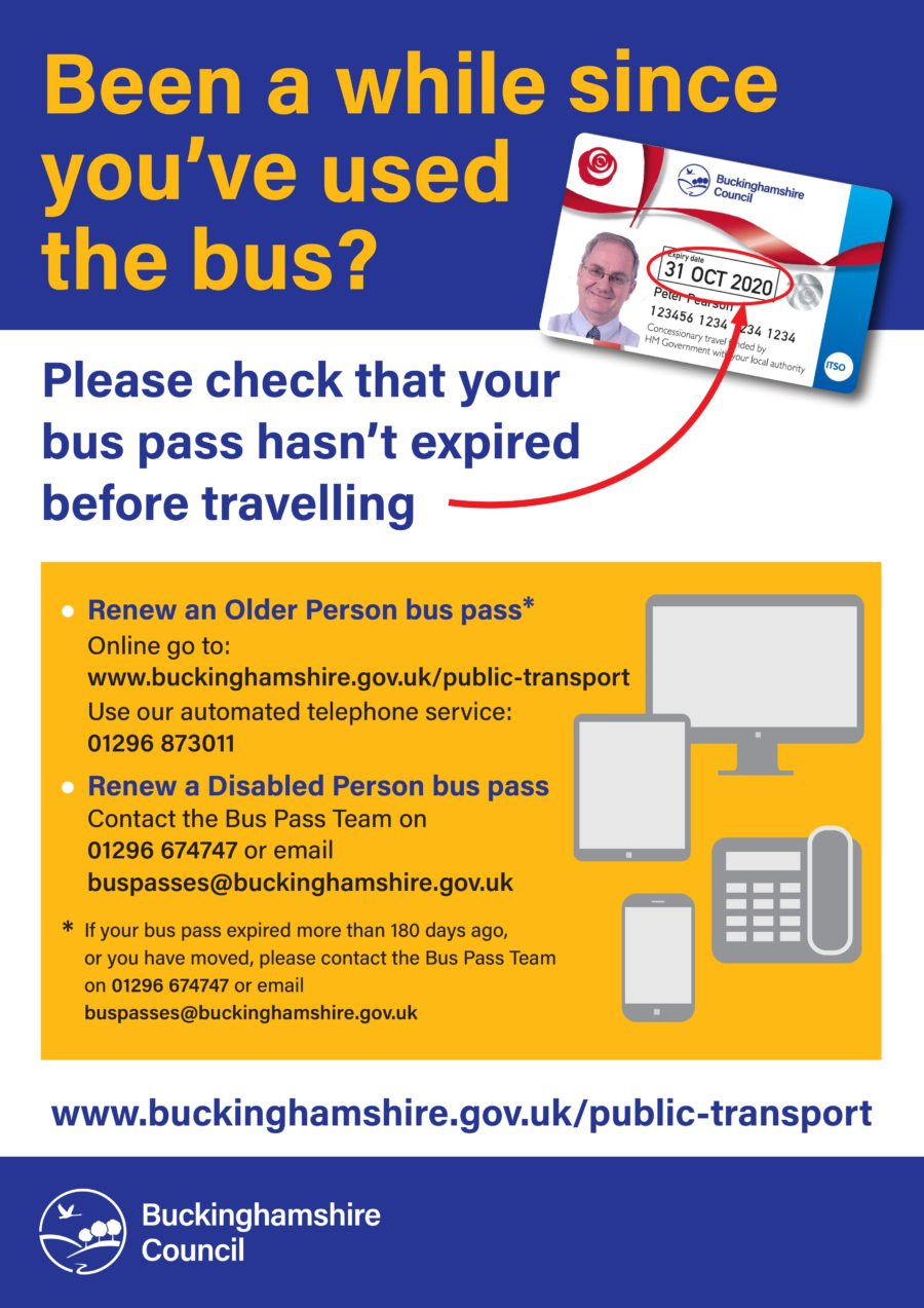 Bus Pass Poster